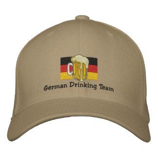Casquillo bordado equipo de consumición alemán gorras bordadas