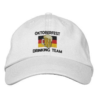 Casquillo bordado equipo de consumición de gorras de béisbol bordadas