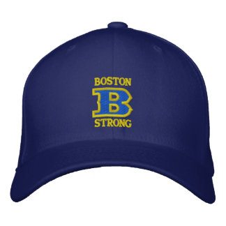 Casquillo bordado FUERTE de BOSTON B Gorra De Béisbol Bordada
