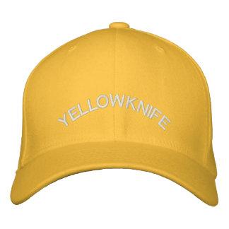 Casquillo bordado gorra de béisbol de Yellowknife