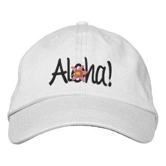 Casquillo bordado luna de miel hawaiana gorra de béisbol bordada