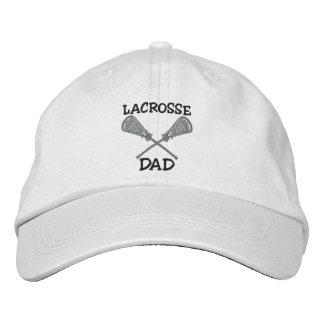 Casquillo bordado papá de LaCrosse Gorra Bordada