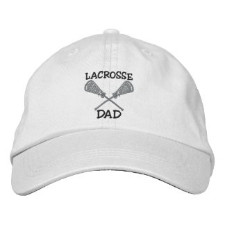 Casquillo bordado papá de LaCrosse Gorras De Beisbol Bordadas