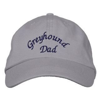 Casquillo bordado papá del galgo gorra de béisbol