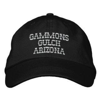 Casquillo bordado quebrada de los Gammons Gorras De Béisbol Bordadas