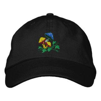 Casquillo bordado seta salvaje gorras de beisbol bordadas