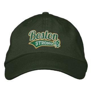 Casquillo bordado trébol fuerte del estadio de gorras de beisbol bordadas
