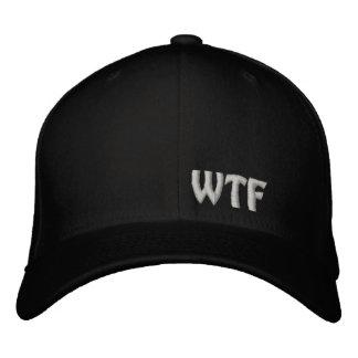 Casquillo bordado WTF de las lanas de Flexfit del Gorra De Beisbol Bordada