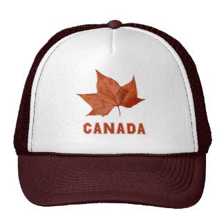 Casquillo canadiense del gorra de la hoja de arce