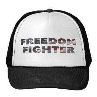 "Casquillo ""combatiente de la libertad "" gorro de camionero"