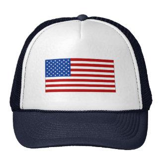 Casquillo con imagen de la bandera americana gorro