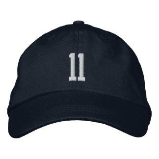 casquillo de 11 deportes gorras bordadas