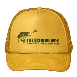 Casquillo de agujero de la pesca gorros bordados