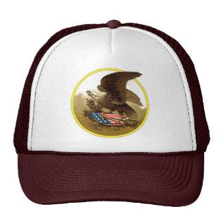 Casquillo de Amercan Eagle del vintage Gorro De Camionero