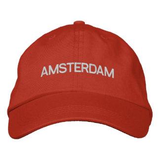 Casquillo de Amsterdam Gorra De Béisbol Bordada