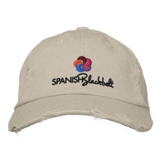 Casquillo de Blackbelt del español Gorra De Béisbol