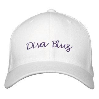 casquillo de Bluz del Diva Gorra De Beisbol Bordada