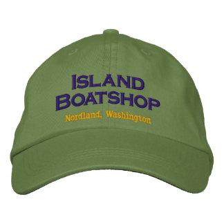 Casquillo de Boatshop de la isla Gorra De Beisbol Bordada
