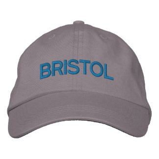 Casquillo de Bristol Gorra De Beisbol Bordada