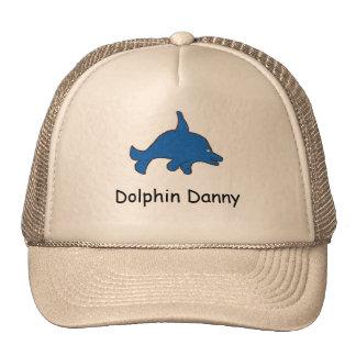 Casquillo de Danny del delfín Gorras
