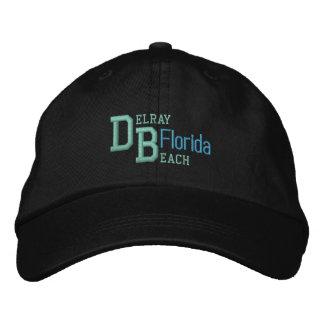 Casquillo de DELRAY BEACH 3 Gorras Bordadas