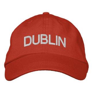 Casquillo de Dublín Gorras De Beisbol Bordadas