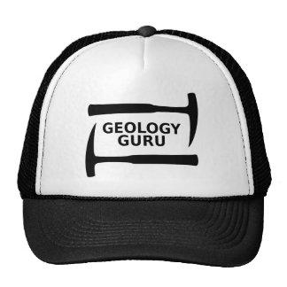 Casquillo de Guru de la geología Gorro De Camionero