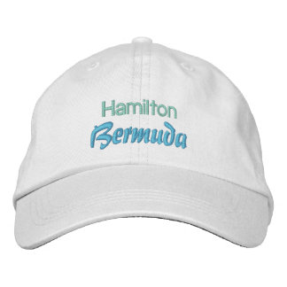 Casquillo de HAMILTON BERMUDAS Gorra Bordada