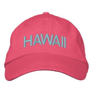 Casquillo de Hawaii Gorras De Béisbol Bordadas