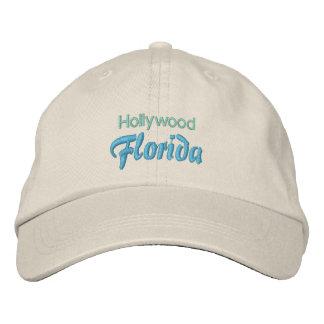 Casquillo de HOLLYWOOD (la Florida) Gorro Bordado