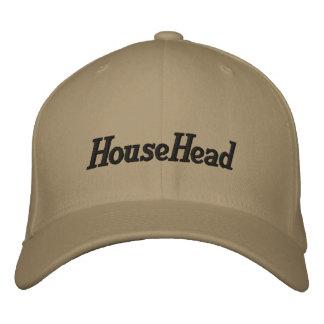 Casquillo de HouseHead Gorra Bordada