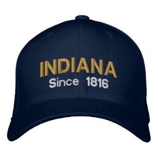 Casquillo de Indiana desde 1816 Gorras De Beisbol Bordadas