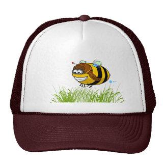 Casquillo de la abeja gorros bordados