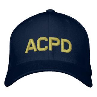 Casquillo de la bola de ACPD Gorra Bordada
