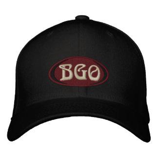 Casquillo de la bola de BGO Gorra Bordada