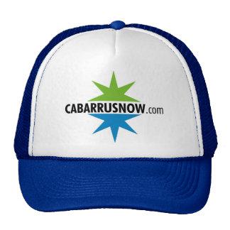 casquillo de la bola de CabarrusNow.com Gorra