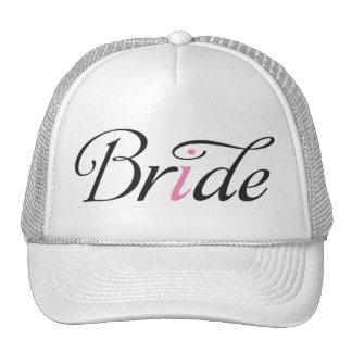 Casquillo de la bola de la novia gorras