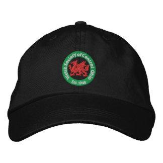 Casquillo de la bola del logotipo de WSCO - negro Gorras Bordadas