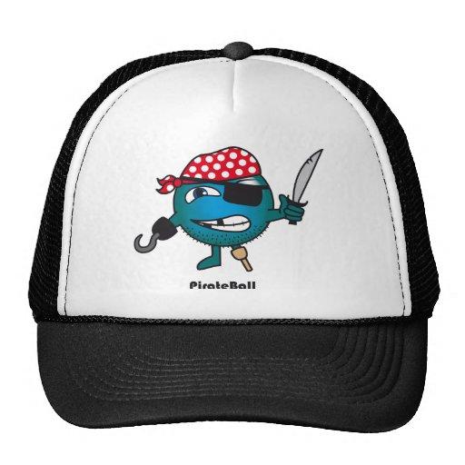 Casquillo de la bola del pirata gorra