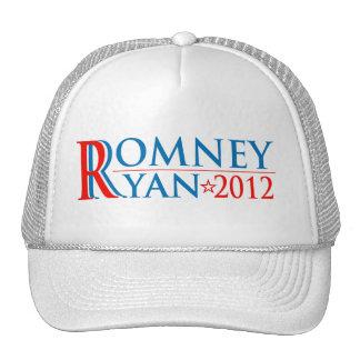 Casquillo de la campaña de Romney Ryan 2012 Gorros