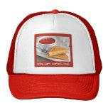 Casquillo de la comida de la comodidad gorras de camionero
