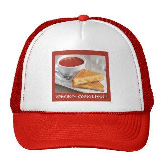 Casquillo de la comida de la comodidad gorras