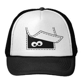 Casquillo de la criatura del bolsillo gorras de camionero