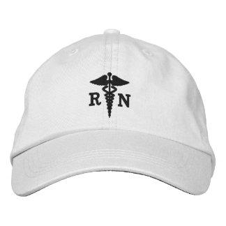 Casquillo de la enfermera registradoa gorra de beisbol bordada