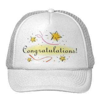 casquillo de la enhorabuena gorras de camionero
