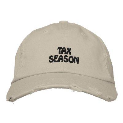 Casquillo de la estación del impuesto gorra de béisbol bordada