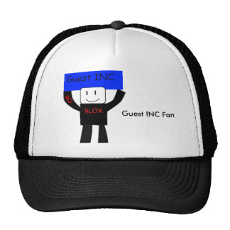 Casquillo de la fan de la huésped inc. gorras de camionero