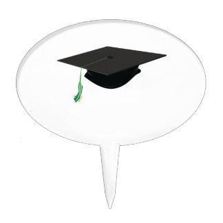 Casquillo de la graduación decoración para tarta