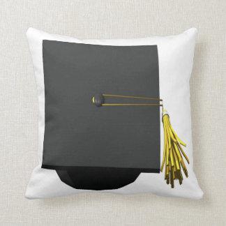 Casquillo de la graduación almohada
