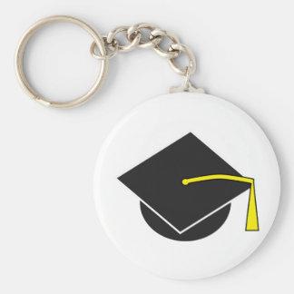 Casquillo de la graduación de la escuela/de la uni llavero personalizado